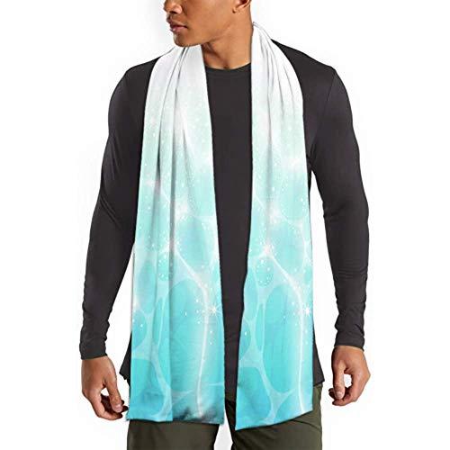 H.D. Pañuelo largo para hombre y mujer, de invierno, de algodón, para el invierno