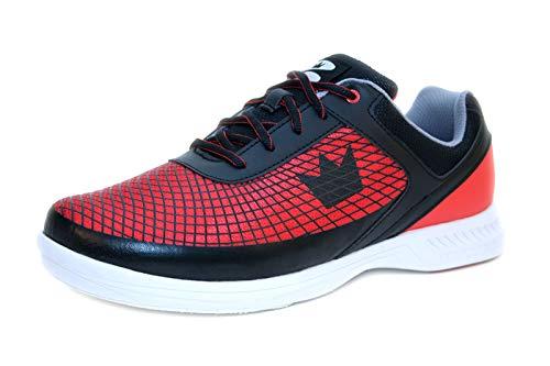 Brunswick Bowlingschuhe Frenzy Black Red, Größe:43;Farbe:Schwarz/Rot