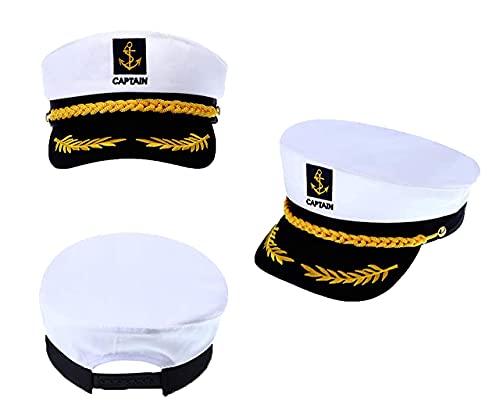 Marine Hat, Sailor hat for Men/Woman, Captain...