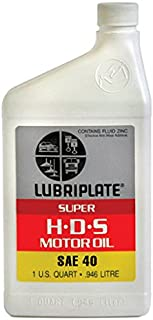 Lubriplate Lubricants Co L0792-054 - Diesel Engine Oil, SAE Grade: 40, Composition: Mineral Oil, Container Size: 1qt, Bottle, Pack of 15