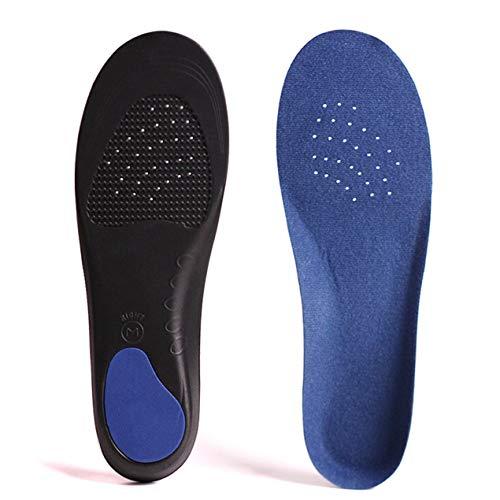 DBSUFV Plantillas de Soporte de Arco para pies, cojín de absorción de Golpes, Plantillas ortopédicas Deportivas, Almohadilla para Zapatos, Mujeres, Hombres