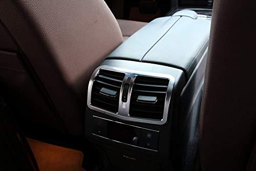 ABS Chromé arrière Climatisation Outlet Vent Coque Bordure Autocollant Accessoires pour W212 E-Class 2012–2015
