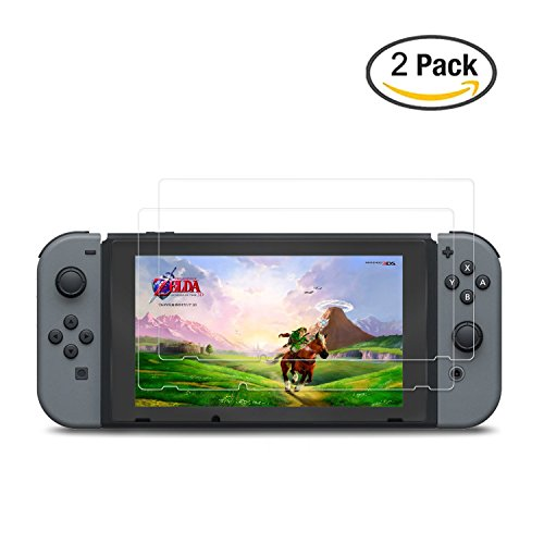 Hapurs 任天堂switch ゲーム機 液晶HD保護フィルム Nintendo Switch専用 液晶保護シート 目に優しい