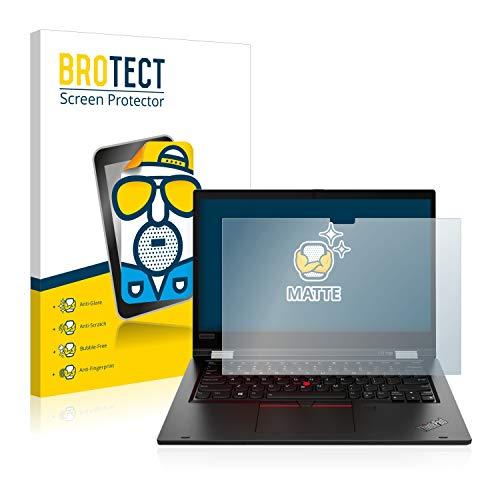 BROTECT Entspiegelungs Schutzfolie kompatibel mit Lenovo ThinkPad L13 Yoga Displayschutz Folie Matt Anti Reflex Anti Fingerprint