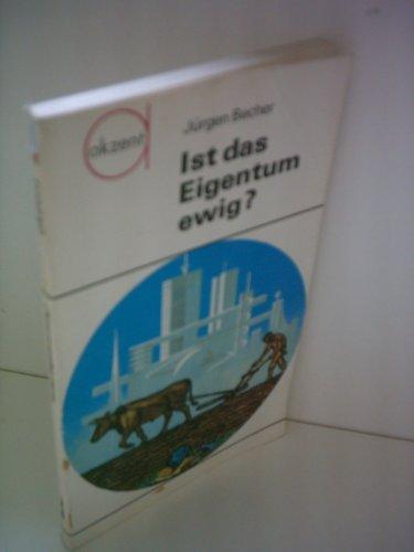 Jürgen Becher: Ist das Eigentum ewig?