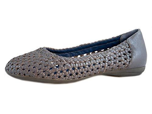 Marc Shoes Damen Janine Ballerinas, Blau , 40