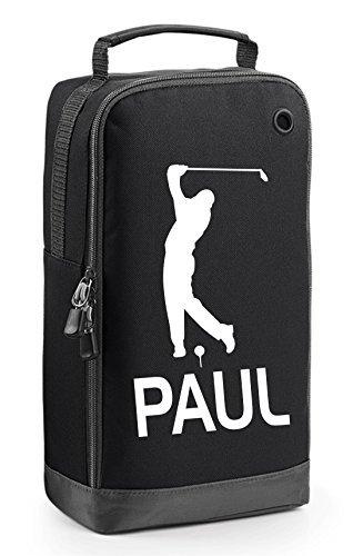 GoGo Graphics Golf Schuhtasche mit Tragegriff-Golfspieler-Motiv als Geschenk hinzufügen, Bitte vor Checkout.Enter Name & Farbe IN der Geschenk-Message Section. und Speichern