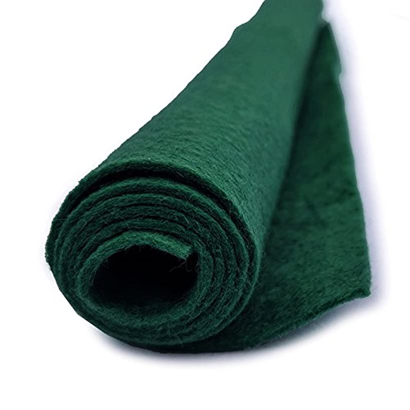Christmas Green - Premium Acrylic Felt - Giant 36in x 36in sheet - For Craft or Drawer Liner