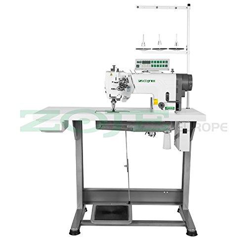 ZOJE - 2 naald stepsteek - industrie naaimachine - naaldtransport - volledig geassembleerd (met tafel en frame) NIEUW!