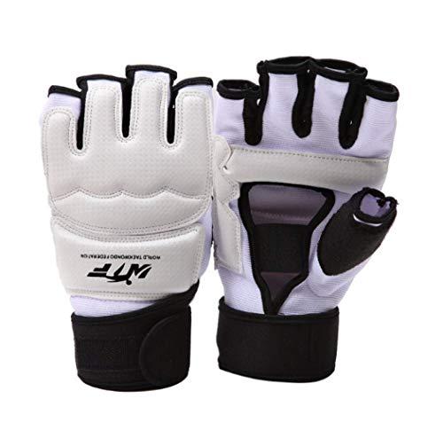 Boxhandschuhe Boxsack Taekwondo Handschuhe Sparring Hand Fußschutz Cover Boxhandschuhe Karate Taekwondo Klammer Schutz Größe: XXL