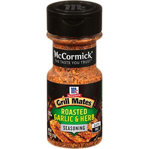 McCormick Grill Mates Roasted Garlic & Herb, 2.75 oz