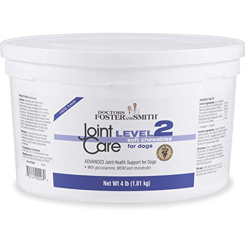 Petco Brand - DRS. Foster and Smith Level 2 Joint Care Soft Chews for Dogs, 4 lbs.
