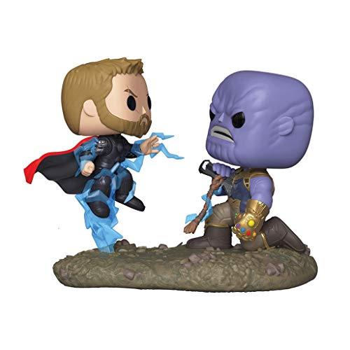 WangQ Modelo - Funko 35799 Pop Bobble 2-Pack: Marvel: Momentos de la película: Thor vs Thanos