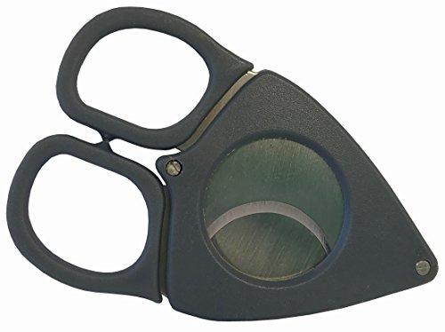 Gunmetal Credo Stainless Steel Double Blade 70 Ring Gauge Cigar Cutter