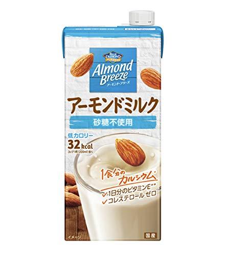 アーモンド・ブリーズ 砂糖不使用 1L×12本 紙パック