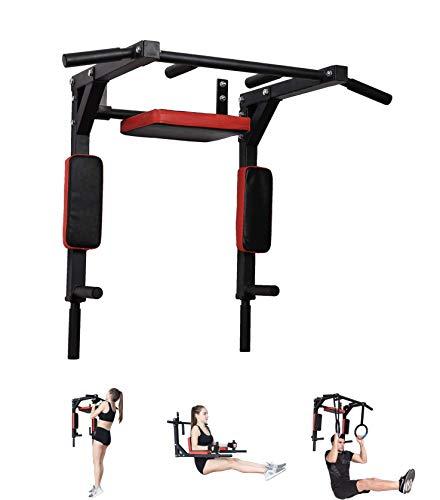Pull up Fitness Pullup Fitness, Barra di trazione Unisex-Adulto, Nero, Taglia Unica