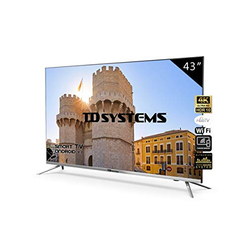 Televisores Led TD Systems (50 Pulgadas UHD) (43 Pulgadas Ultra HD 4K Smart (K43DLJ10US))