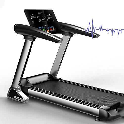ROYWY Laufband Speedrunner Elektrisch klappbar,1-8 km/h Geschwindigkeit,12 Programme,120 kg Belastbar,Fitness Heimtrainer Jogging