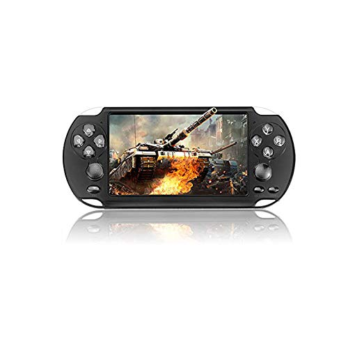HONGSHAN Handheld Game Console Portable Video Games Player Built-in 10000 Classic Games 5.1 Inch LCD Big Screen USB Charge TV Output Arcade Gaming System Gifts for Kids Adults