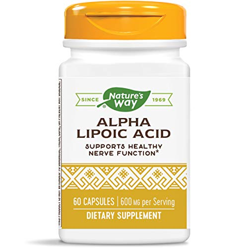 Price comparison product image Nature's Way Alpha Lipoic Acid supports healthy nerve function,  600 mg per serving,  60 Count