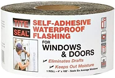 Unknown1 depot Rubber Self-Adhesive Waterproof Flashing 4 X H in. Sacramento Mall Ft.