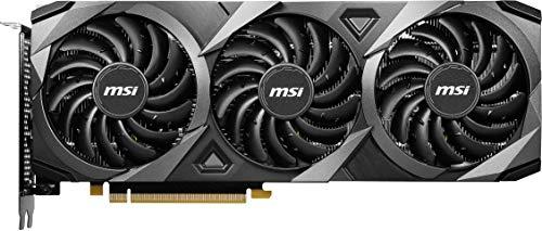 MSI NVIDIA GeForce RTX 3060 Ti VENTUS 3X 8G OC LHR Scheda Video Gaming 8GB GDDR6, 1695MHz, 3x DisplayPort, HDMI, 3x Ventus Fans