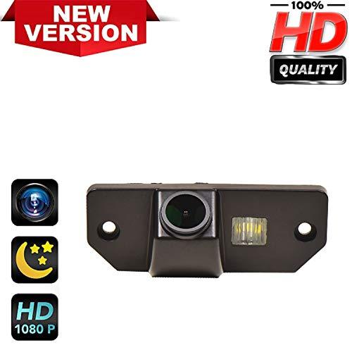 170° HD Kamera 1280x720p Wasserdicht Nachtsicht Kennzeichenleuchte-Rückfahrkamera Distanzlinien Umschaltbar Einparkhilfe für Ford Mondeo Mk3 Mk4 Ford Focus Sedan (2) (3) Sedan C-Max