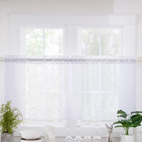 cortinas cortas para ventanas de cocina 120 por 120