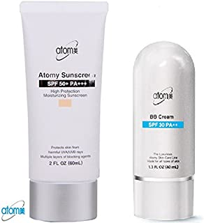 Atomy BB Cream Beige + Sunscreen 2 Pcs 1 Set