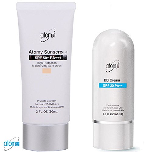 Atomy BB Cream Beige + Sunscreen 2 Pcs 1 Set