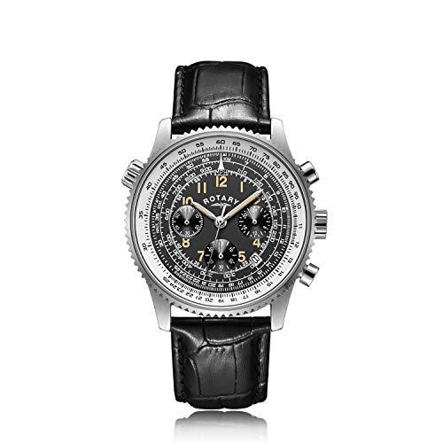 Rotary Reloj exclusivo para hombre Aquaspeed Pilot - GS00070/19 Nuevo
