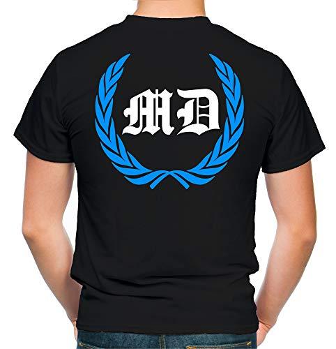 Magdeburg Kranz T-Shirt | Liga | Trikot | Fanshirt | Bundes | M1 (XXL)