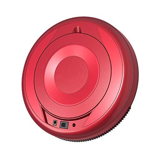 LG Snow Roboter-Staubsauger, intelligentes Weiten- und Moppping integriert Automatischer Wheeling, Moppping, Staubsauger, Haushaltsgeräte (Color : Red)