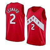 No. 2, Toronto Raptors, Camiseta de Kawhi Leonard, Kawhi Leonard 2#, Camiseta de Baloncesto, Unisex, S-XXL, versión Fan Liga Masculina - versión Fan-Red-XXL