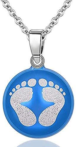 WYDSFWL Collar Cobre 20mm Harmony Bola Bola Collar Glockenspiel Bola Colgante para Mujer Regalo de Joyería Embarazo Mexicano Bola Cadena Longitud 45cm Collar