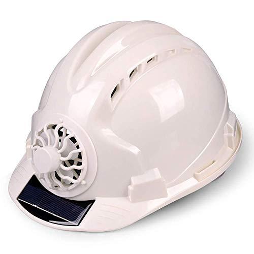 HONGY Casco Ventilado Lugar de Trabajo Protector Pantalla Duro Energía Solar Seguridad...