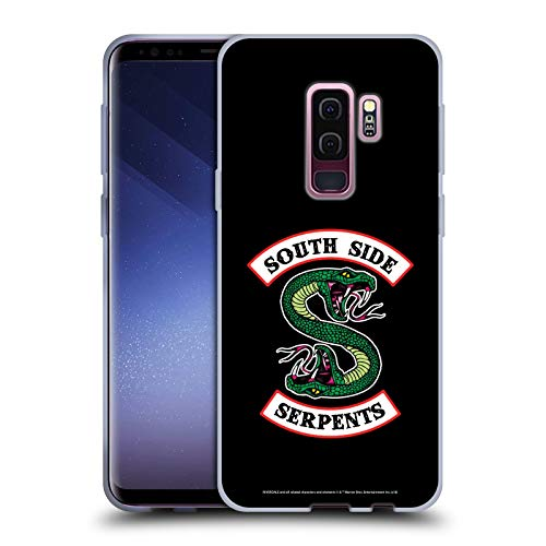 Official Riverdale South Side Serpents Graphic Art Soft Gel Case Compatible for Samsung Galaxy S9+ / S9 Plus