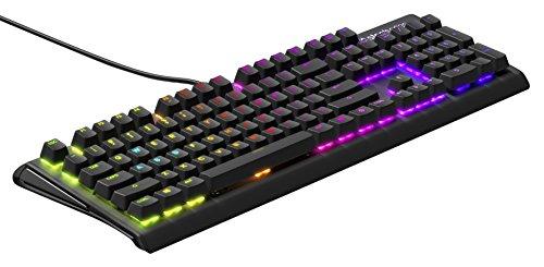 SteelSeries Apex M750, Teclado para Juegos mecánico, iluminación RGP por tecla, 6 Teclas Macro, PC/Mac, disposición QWERTY Americano