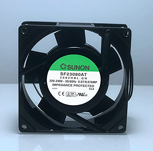 SF23080AT P/N 2082HBL 220V/240V 0.07A 8cm 8038 industrial cabinet distribution box axial fan