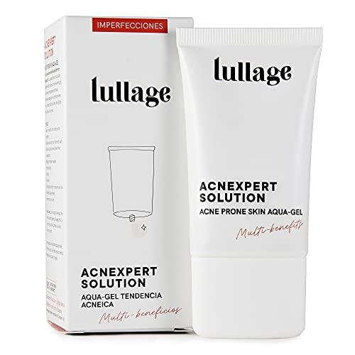 LULLAGE Gel Anti-Imperfecciones para Pieles con Tendencia Acneica, 40 ml   Tratamiento VEGANO y Natural con Niacinamida   Hidratante y Equilibrante   Controla los Granitos, Acnexpert Solution