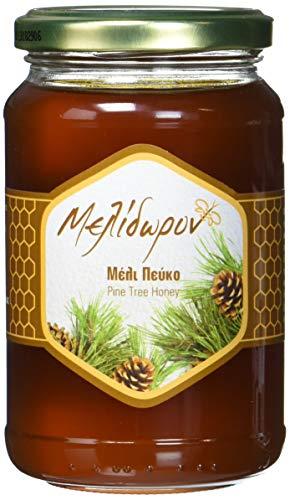Melidoron Roher Griechischer Kiefernhonig 450 g, 2er Pack