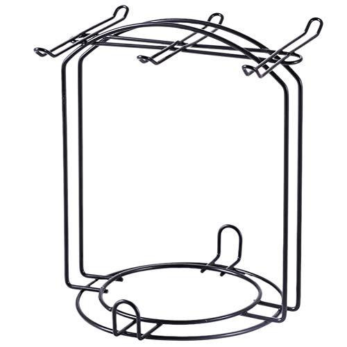 DOITOOL Soporte para tazas, 1 unidad, práctico soporte para tazas de café (negro).