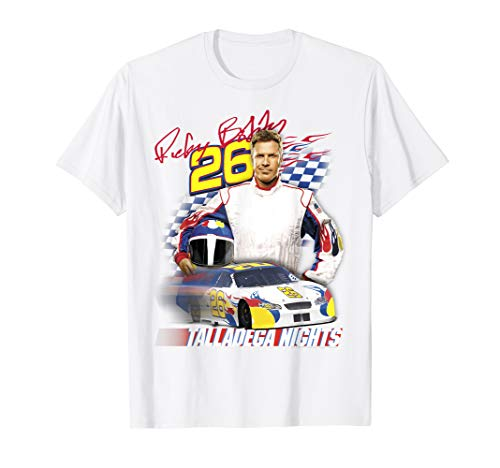 Talladega Nights Ricky Bobby Wonder Bread Race Car Portrait T-Shirt