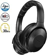 Mpow H17 Casque Bluetooth Reduction de Bruit Active, 2 Heures de Charge Rapide Casque Audio, 30 Heures Temps de Musique, Deep Bass avec CVC 6.0 Casque Bluetooth pour TV/PC/Téléphone