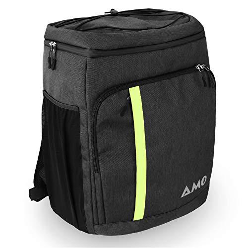 AMO Hookah Backpack – extra großer Shisha Rucksack inkl. Dicker rundum Polsterung & für Shisha Sets angepasster Innenaufteilung - Shisha sicher & einfach transportieren - für alle Shisha Besitzer
