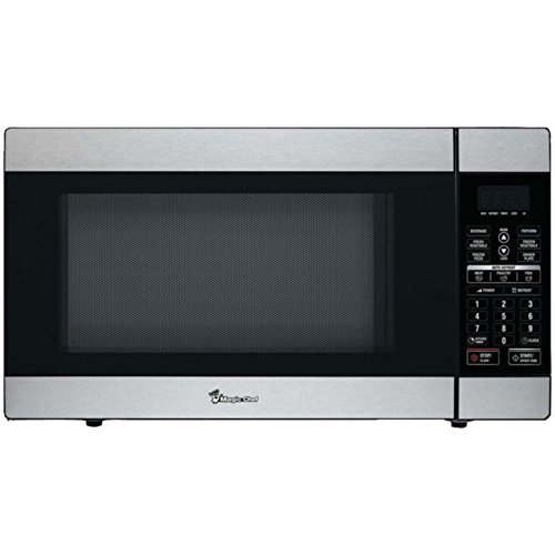 Magic Chef MCD1811ST 1.8 Cu ft 1100W Stainless Microwave W/Digital Touch & Timer Home & Garden