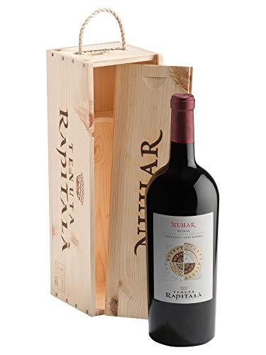 NUHAR Pinot Nero/Nero d'Avola Sicilia DOC - Tenuta Rapitalà - Vino rosso fermo 2016 - Bottiglia 1,5 Lt