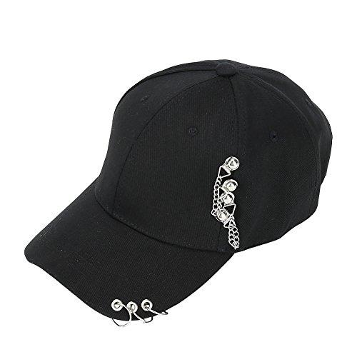 Kingmia BTS Baseballmützen Bangtan Boys BTS Hüte für Immer Fan Shop Suga Jin Jimin Jung Kook J Hoffnung Rap Monster V (Schwarz1)