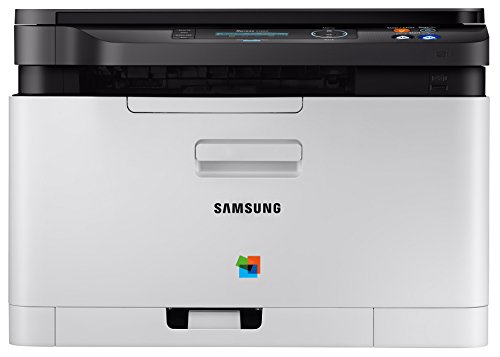 Samsung Xpress SL-C480W/TEG 18/4 PPM Colour Laser All-In-One Printer (White)