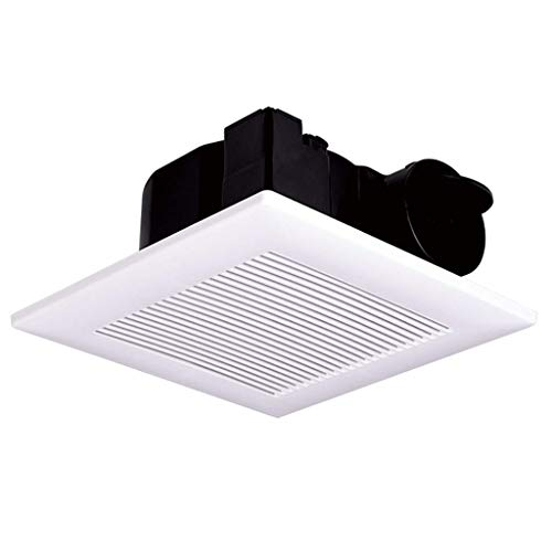 XZJJZ Techo Ventilador de ventilación, Flujo de Aire silencioso, Duradero, fácil de Instalar, Ventilador Cuarto de baño Blanco Fuerte